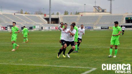 El Conquense firma una transcendental victoria tras una gran segunda parte (2-0)