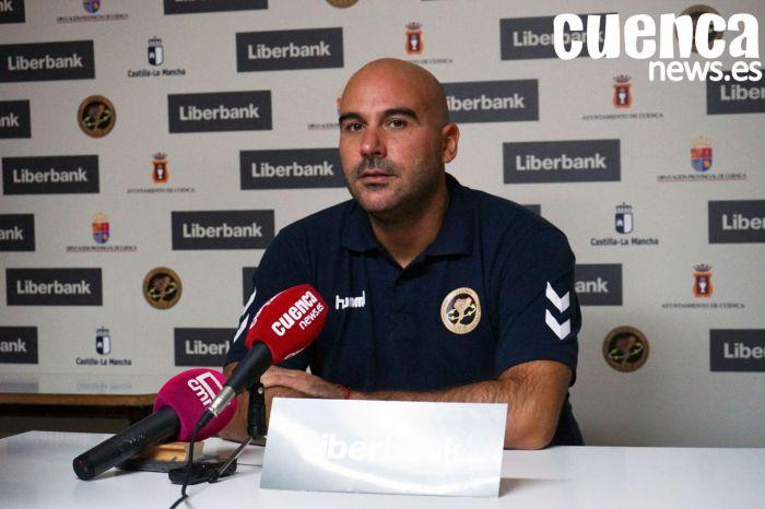 Lidio Jiménez: 'No hay excusa para afrontar choque ante Teucro con idea de ganar'