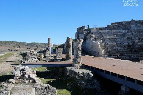 La Junta invertirá 43.000 euros en la sustitución del solado del escenario del Teatro Romano de Segóbriga