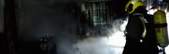 Aparece muerto un hombre en un edificio desalojado por un incendio en Ocaña