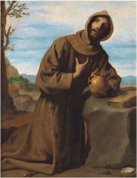 San Francisco en oración 1659. Óleo sobre lienzo, 126 x 97,1 cm. (Foto: museodelprado.es)