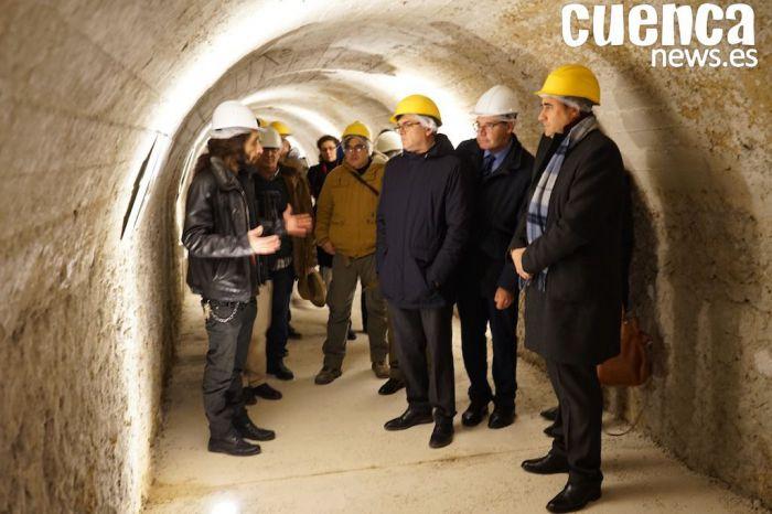 El 2 de febrero se abrirá el túnel refugio de Calderón de la Barca