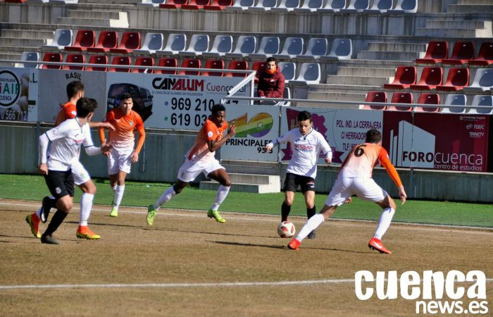 Esperanzadora y vital victoria del Conquense ante el Peralada (1-0)