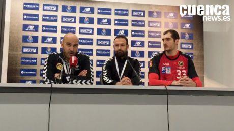 Sala de Prensa | Lidio Jiménez - [FC Porto 37- 26 Liberbank Cuenca]