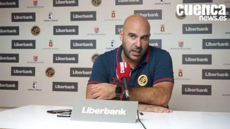 Lidio Jiménez valora el partido ante el Constanta y habla previo al choque frente al BM Sinfín en Santander