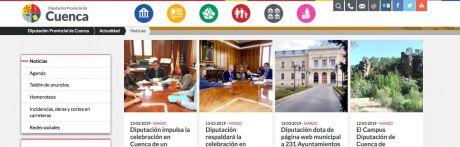 La Junta Electoral Provincial obliga a la Diputación a retirar información propagandística de su página web