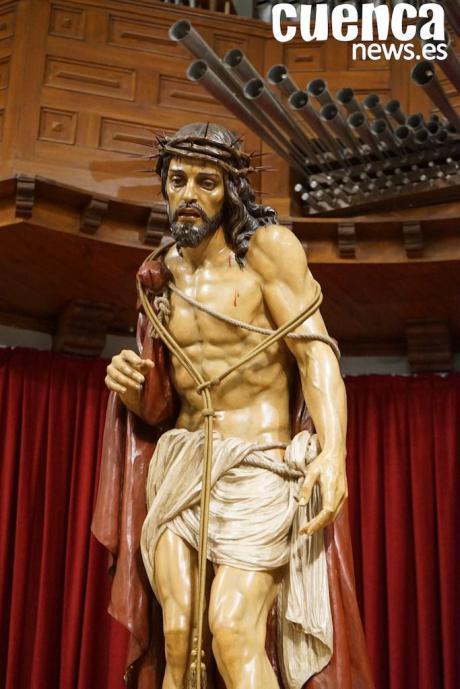 El Miércoles Santo se podrá visitar y venerar la talla del Ecce-Homo de San Miguel en San Pedro