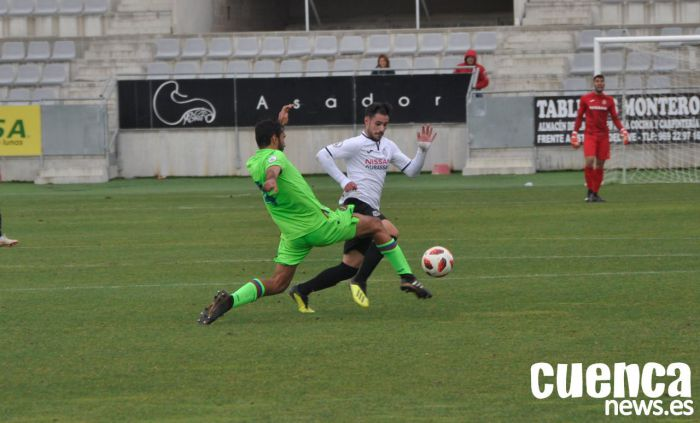 Cerocerismo en el partido del miedo a perder entre el Teruel y Conquense (0-0)