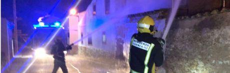 El incendio de una vivienda en Villar del Saz de Navalón reabre el debate sobre los tiempos de respuesta de los bomberos de la Diputación