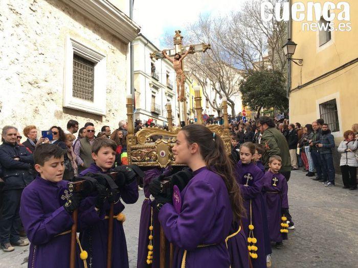 Otro nuevo éxito de participación en la procesión infantil de Cuenca