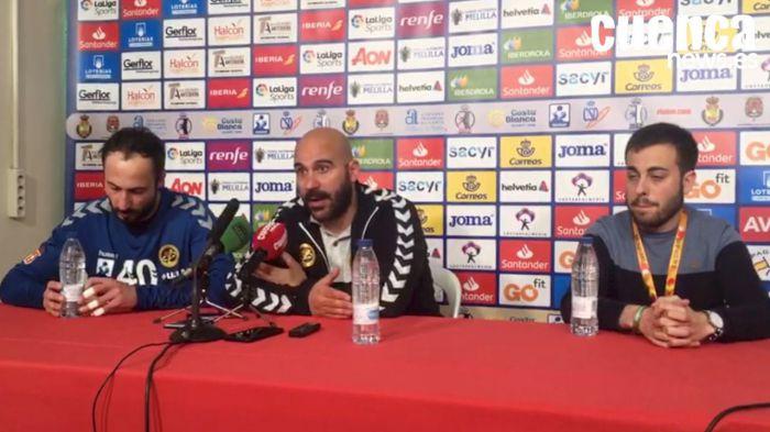 Lídio Jiménez: 'En la segunda mitad nos hemos ido del partido'