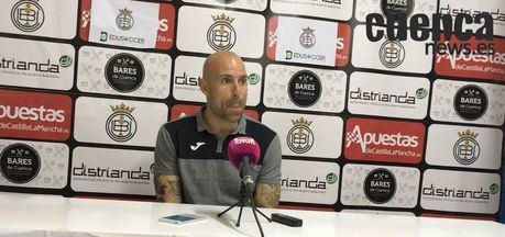 Sala de Prensa | Cesar Lainez- [U.B. Conquense 3– 0 Valencia Mestalla ]