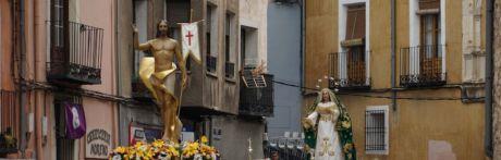 Cuenca vibra con la procesión del Encuentro y se despide de su semana de pasión