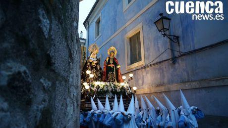 """Dolz se compromete a continuar """"preservando, difundiendo y ensalzado"""" la Semana Santa de Cuenca"""