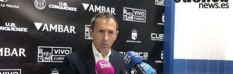 Sala de Prensa   Joan Carles Oliva - [U.B. Conquense 1 – 2 Lleida Esportiu]