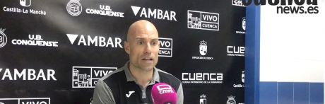 Sala de Prensa   Cesar Lainez- [U.B. Conquense 1– 2 Lleida Esportiu]