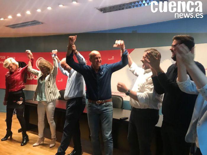 El PSOE obtiene 2 diputados en Cuenca por primera vez en tres décadas