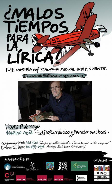 ¿Malos tiempos para la Lírica? contara esta tarde con la conferencia de Marino Goñi