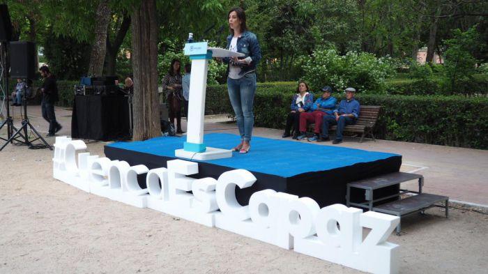 """Luz Moya: """"El PP es el partido centrado en solucionar los problemas de las personas"""""""