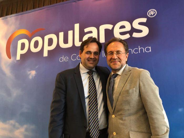 Huete elogia a Núñez como líder de un proyecto sólido y creíble para Castilla-La Mancha, frente a las mentiras de Page y de la izquierda