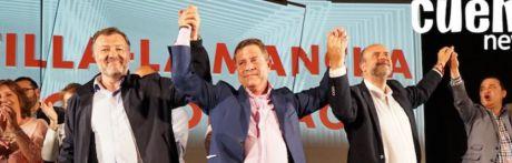 Dolz y García-Page cierran la campaña del PSOE ante 2.000 personas en la capital