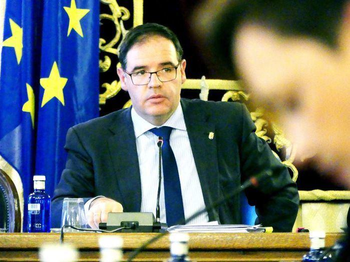 En imagen Benjamín Prieto, presidente en funciones de la Diputación Provincial