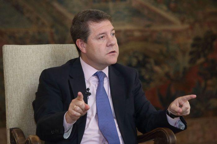 García-Page: 'Si Cs no apoya al PSOE en las Alcaldías, que negocie con PP y Vox en Cortes'