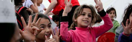 Accem y Cruz Roja organizan una cadena humana