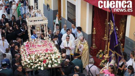 Devoción y color en torno a la procesión del Corpus Christi de la capital
