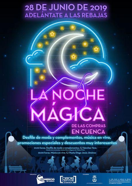 Cuenca vivirá este viernes 'La Noche Mágica de las compras'