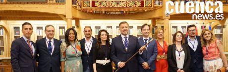 Así es el nuevo equipo de gobierno del Ayuntamiento de Cuenca
