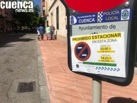 La procesión del Sagrado Corazón de Jesús y la Noche Mágica del Comercio de Cuenca implican restricciones de tráfico este viernes