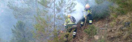 Se declara un incendio forestal en Carrascosa de la Sierra