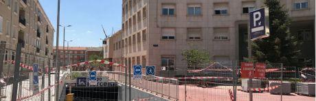 El aparcamiento de Astrana Marín podrá abrir sus puertas esta misma semana