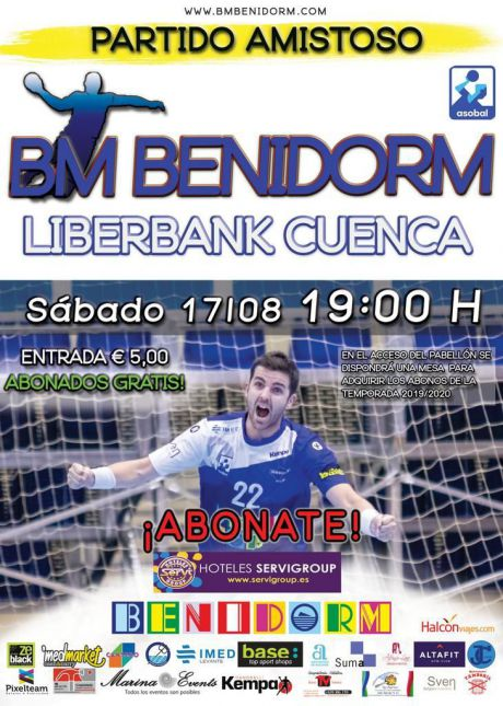 El Liberbank Cuenca visita al BM Benidorm en su primer amistoso de pretemporada