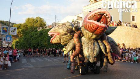 Cabalgata de fantasía para abrir las Ferias y Fiestas de San Julián