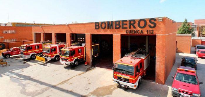 Los bomberos de la Diputación actúan en la provincia a causa de las tormentas de la pasada noche