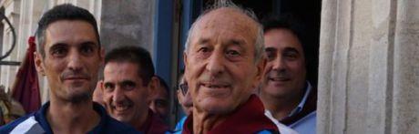 Luis Guijarro 'El Tata' y Mario Rodríguez 'Mr. Trazo', pregonero y cartelista de San Mateo 2019