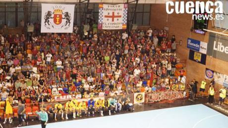 Las entradas del partido de Liberbank Cuenca-Alpla HC Hard se pondrán el jueves a la venta