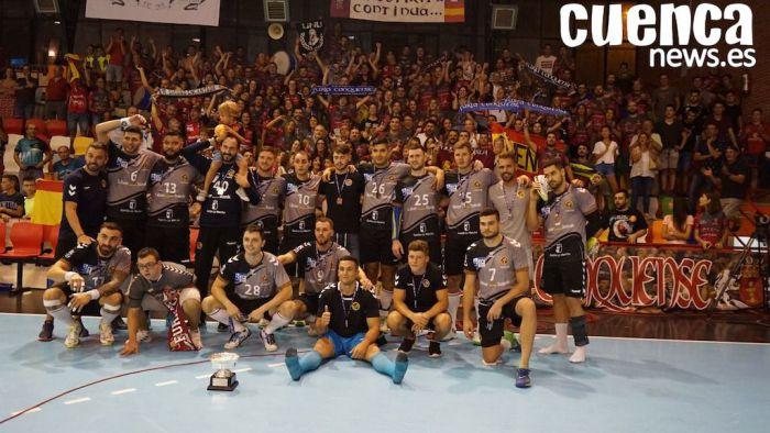Liberbank Cuenca, digno subcampeón de la Supercopa con una afición de matrícula de honor (33-22)