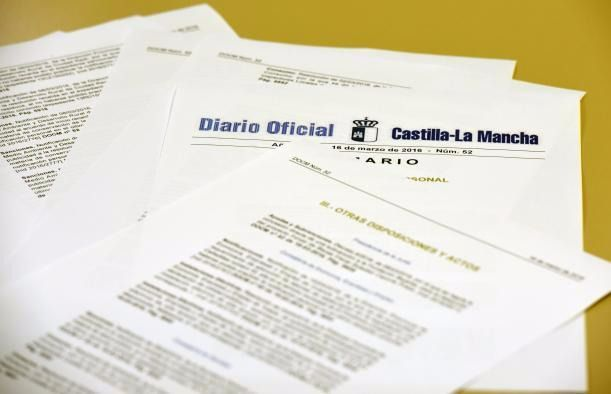 La web del Diario Oficial de Castilla-La Mancha recibió más de un millón de visitas en el primer semestre de este año
