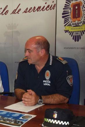 Francisco Durán, jefe de la Policía Local se jubila tras más de 30 años en el cargo