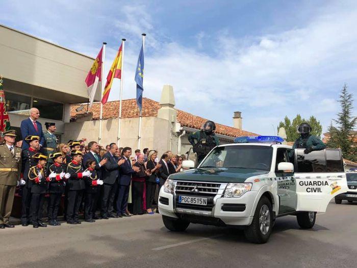 Cuenca rinde homenaje a la patrona de la Guardia Civil en el Día de la Hispanidad
