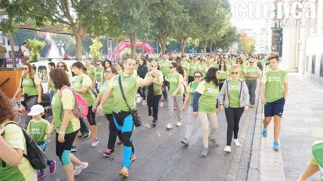 Éxito rotundo en la Marcha de la AECC de Cuenca