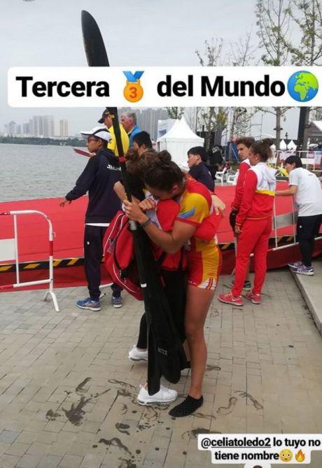 Celia Toledo Espinilla bronce en la primera jornada del Campeonato del Mundo de Maratón