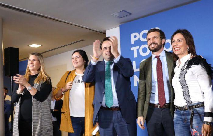 Casado reitera en Cuenca su compromiso de impulsar el Pacto de Estado contra la despoblación