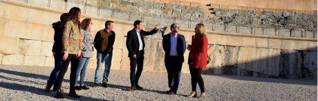 Diputación contará con los ayuntamientos de la zona para dinamizar Segóbriga