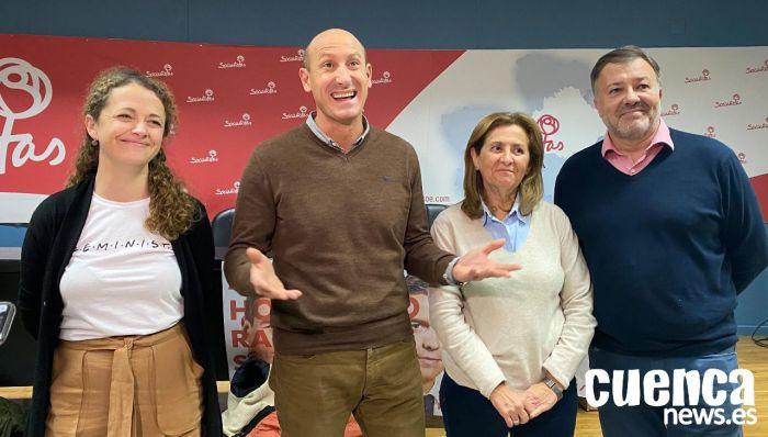 El PSOE gana las elecciones en Cuenca con dos diputados