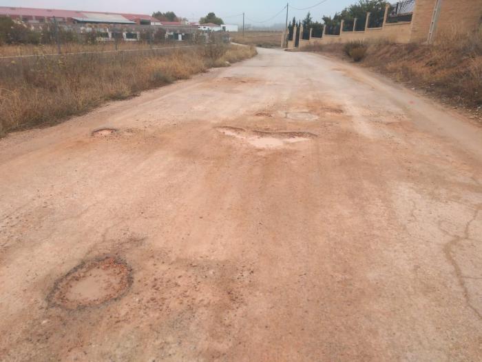 IU Mota pide el arreglo del camino hasta el C.O. El Castellar