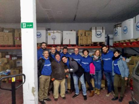 Banco de Alimentos de Cuenca, preparados para ayudar
